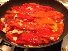Guarnición de pimientos (para carnes)