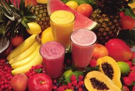 Fruta licuada