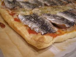 Pizza de sardinas
