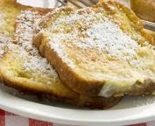 Tostadas francesas:Pan a la francesa