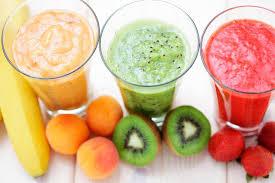 Batido de fruta