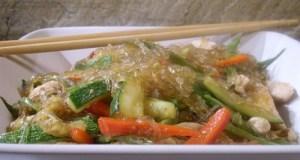 wok de hortalizas con maaz