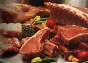 Diferentes tipos de carnes