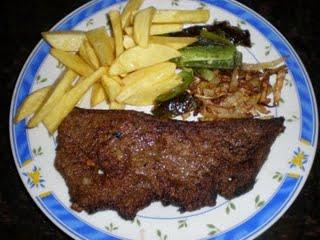 Hígado frito