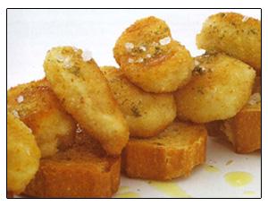 frituras de pan
