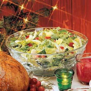 ensalada navideña