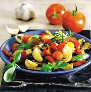 Ensalada tibia de hortalizas