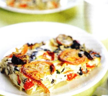 Tortilla napolitana