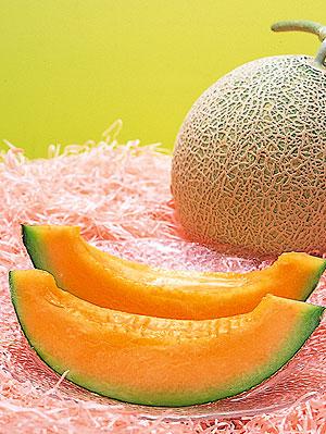 El aromático y dulce melón