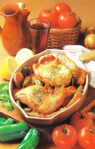 Receta vasca: Pollo a la vasca