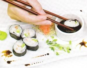 Cómo se come sushi