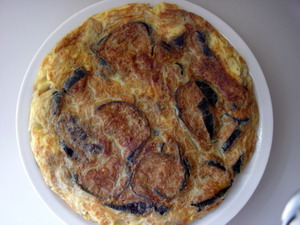 Cómo hacer una Tortilla de Berenjenas