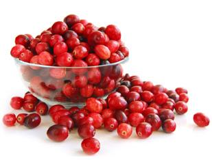 Los cranberries y su uso en la cocina