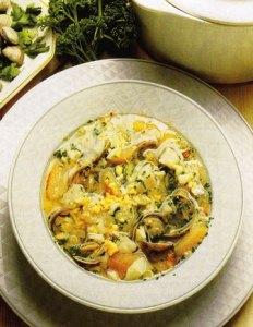 sopa de besugo