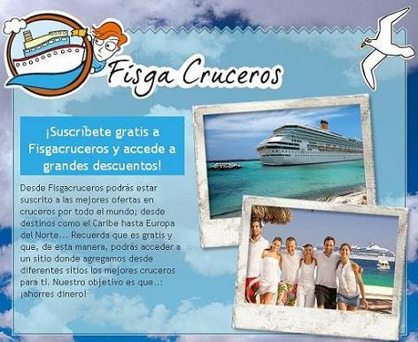 Fisgacruceros, cruceros al mejor precio