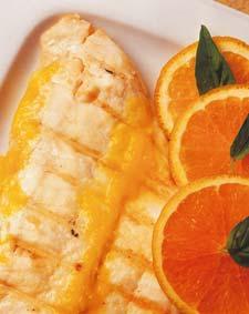 Lenguados a la naranja