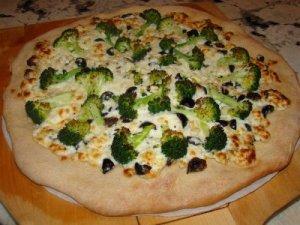 Pizza de brécol