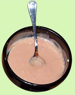 Salsa mahonesa con azafrán