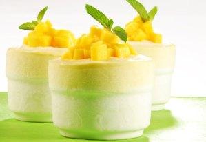 souffle de mango