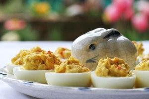 Receta básica de huevos rellenos