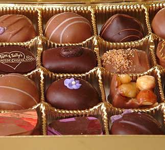 Chocolate y polifenoles
