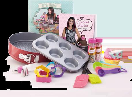 El País te regala el set de Alma Obregón para elaborar tus cupcakes