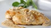 Pechugas de pollo con salsa de avellanas