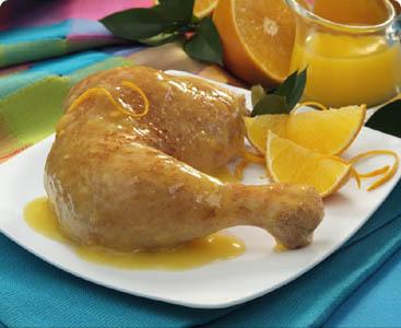 Pollo con salsa de yogur y limón