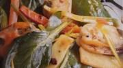 Mejillones con salsa de alubias negras