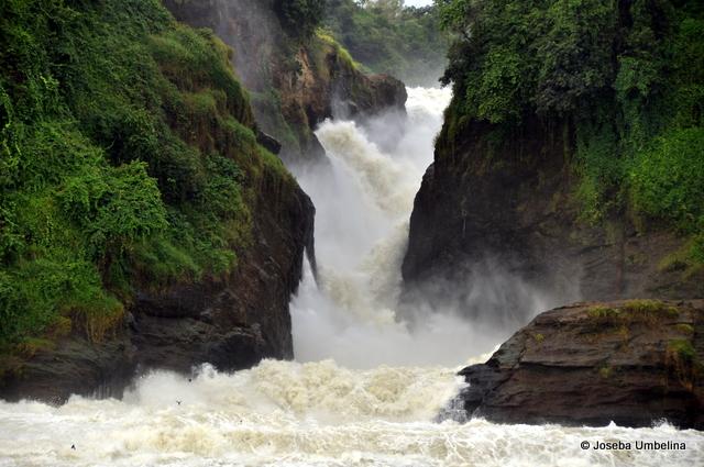 Las cataratas Murchison en Uganda
