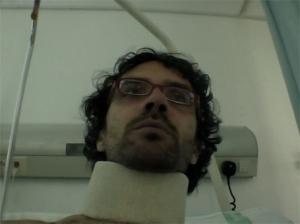 El director Elías León Siminiani, en un fotograma de la película Mapa
