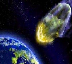 Ilustración asteroide 2012 DA14