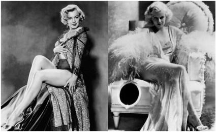 Jean harlow era la actriz más admirada por Marilyn.