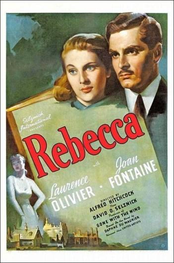 Cartel original de la película Rebeca (Alfred Hitchcock, 1940)