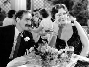 Groucho y Margaret: Una Noche en la Ópera.
