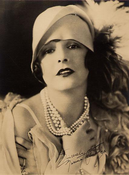 Norma Talmadge fue la inspiración al bautizar a la pequeña Norma Jean