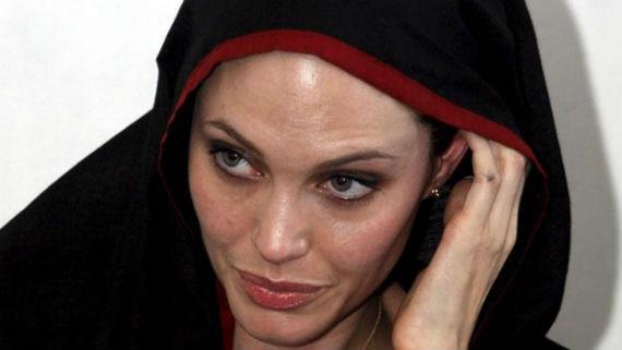 Angelina Jolie en Pakistán (Foto: EFE)