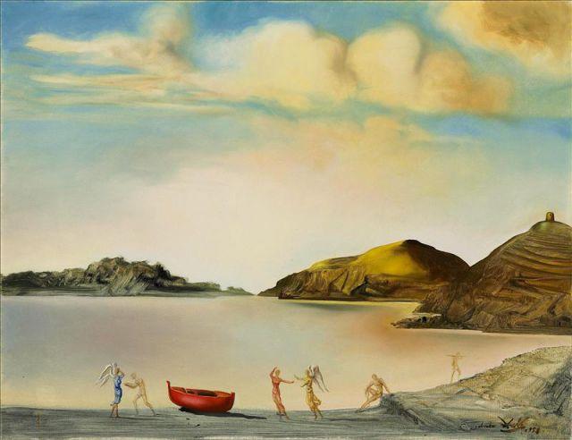 Port Lligat al atardecer, (1959).