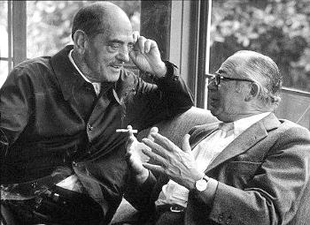 Luis Buñuel y Billy Wilder.