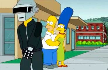 Daft Punk Los Simpsons