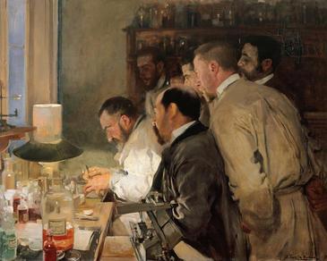 'Una investigación', del pintor Joaquín Sorolla (Museo Sorolla). / Google Art Project