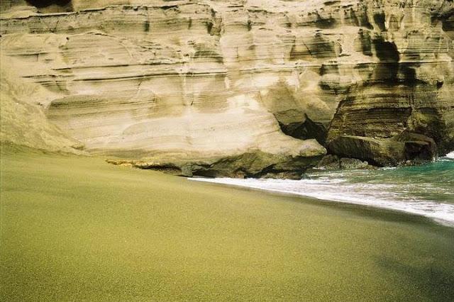 playa verde Papakolea Hawaii 20