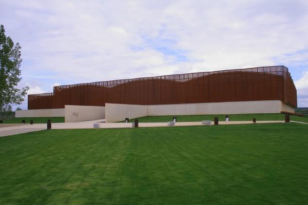 Vista exterior del complejo ©Diputación de Palencia.