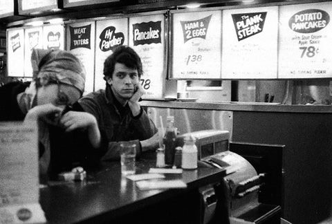 lou reed, bar
