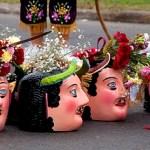 mascaras en calle