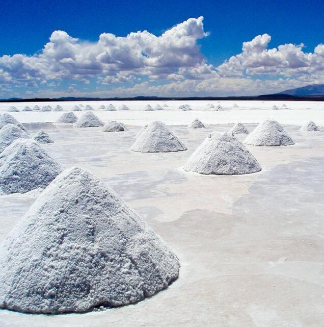 Salinas de  Uyuni, Bolivia