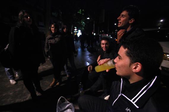 Jovenes, alcohol y peleas
