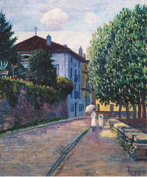 Calle de Durango. Arrabal de Pinondo, 1907. BBK