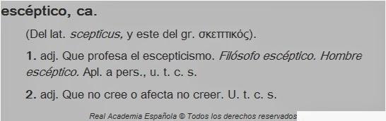 Diccionario ESCEPTICO