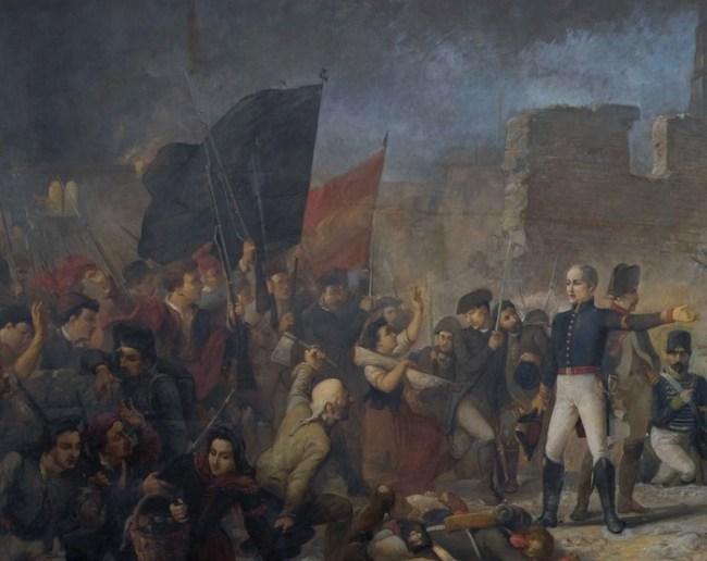 El gran día de Girona, 1864, Ramón Martí Alsina.